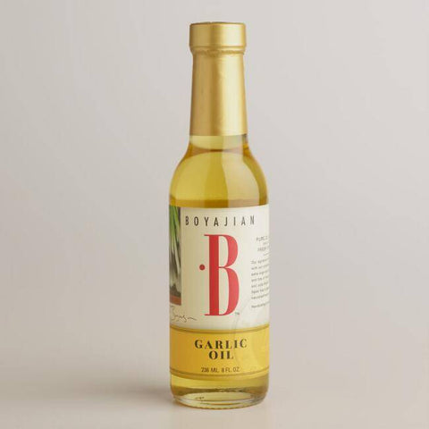Low FODMAP Boyajian Garlic Oil (8oz)-casa de sante
