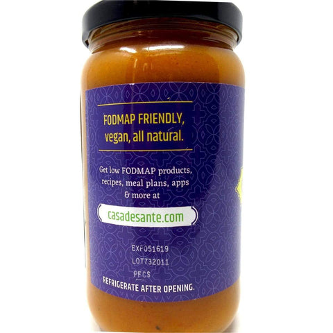 Low FODMAP Certified Curry Sauce - No Onion No Garlic, Gluten & Lactose-free, Low Sodium & Fat, Low Carb, Whole30, Paleo, Keto, Gut Friendly, Mild - casa de sante