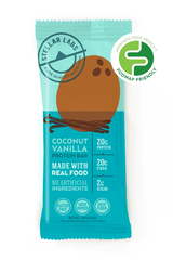 Low FODMAP Certified Protein Bar, Coconut Vanilla, 6 pack-protein snack bar-casa de sante