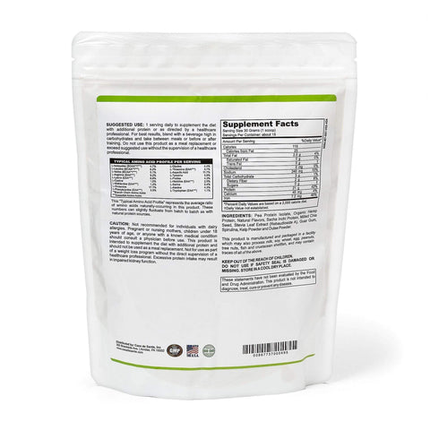 Low FODMAP Certified Protein Powder Vegan, Gluten Free, Dairy Free, Soy Free, Grain Free, Sugar Free, All Natural, Non GMO, Low Carb - casa de sante
