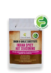 Low FODMAP Certified Spice Mix (Indian Spicy Hot Seasoning Rub) - No Onion No Garlic, Gut Friendly, Artisan, Onion and Garlic Substitute Seasoning, Paleo-no onion no garlic low fodmap spice-casa de sante