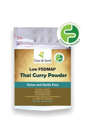 Low FODMAP Certified Spice Mix (Thai Curry Seasoning) Pouch - No Onion No Garlic, Gluten Free, Gut Friendly, Artisan-no onion no garlic low fodmap spice-casa de sante