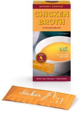 Low FODMAP Chicken Broth Concentrate, Savory Choice-casa de sante