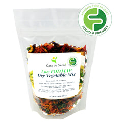 Low FODMAP Dry Vegetable Mix - No Onion No Garlic, Gluten Free, MSG Free, Paleo for Soups, Stews and More-casa de sante