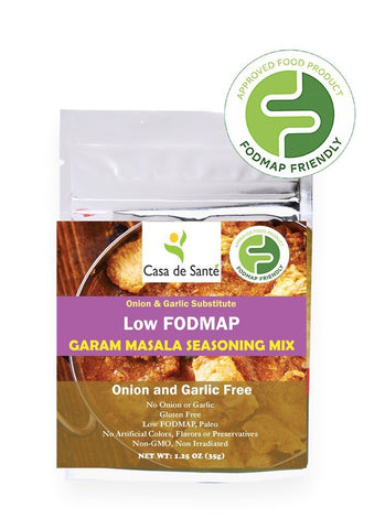 Low FODMAP Garam Masala Seasoning Spice Mix - No Onion No Garlic, Gluten Free, Gut Friendly, Artisan, Paleo-no onion no garlic low fodmap spice-casa de sante