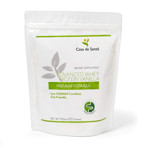 Low FODMAP Protein Powder, Gluten, Lactose, Soy, Sugar & Grain Free, Low Carb, All Natural, Whey (WPI), ProHydrolase 3X Protein Absorption, Vanilla