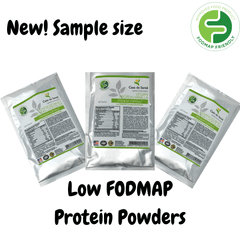 Low FODMAP Protein Powder Sample 3 Pack (Vegan Vanilla, Whey Vanilla & Whey Chocolate), Gluten Free, Soy Free, Sugar Free, Grain Free, Low Carb, All Natural - casa de sante
