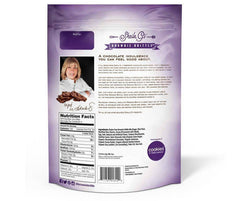 Low FODMAP Snack Brownie Brittle - Dark Chocolate Sea Salt 5oz Bag