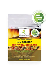 Low FODMAP Stir Fry Seasoning Spice Mix - No Onion No Garlic, Gluten Free, Gut Friendly, Artisan, Paleo-no onion no garlic low fodmap spice-casa de sante