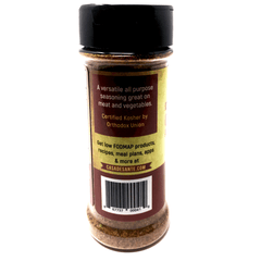 Organic Low FODMAP Spice Mix (Adobo Seasoning) - No Onion No Garlic, Gluten Free, Low Sodium, No Carb, Keto, Paleo, Kosher