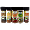 Image of Organic Low FODMAP Spice Mixes -No Onion No Garlic, Gluten Free, No Carb, Keto, Paleo, Kosher, Grilling 5 Pack - casa de sante
