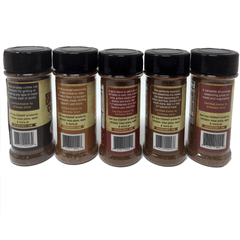 Organic Low FODMAP Spice Mixes -No Onion No Garlic, Gluten Free, No Carb, Keto, Paleo, Kosher, American 5 Pack