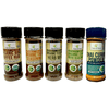 Image of Organic Low FODMAP Spice Mixes, No Onion No Garlic, Gluten Free, No Carb, Keto, Paleo, Kosher, Starter 5 Pack - casa de sante