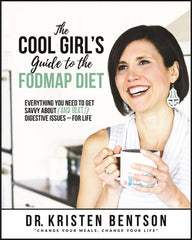 The Cool Girl's Guide to the FODMAP Diet: Everything You Need to Get Savvy About (and Beat!) Digestive Issues - for Life! (Paperback Low FODMAP Book)-Book-casa de sante