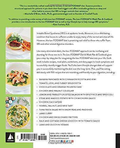 The Low Fodmap 6 Week Plan And Cookbook A Step By Step Program Of Recipes And Meal Plans Alleviate Ibs And Digestive Discomfort Casa De Sante