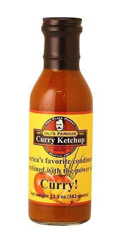 Uli's Famous Curry Ketchup (13.5oz) - Low FODMAP, No Onion No Garlic, Gut Friendly-casa de sante