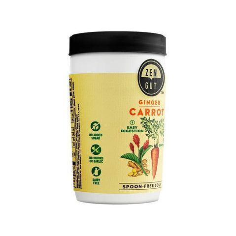 ZenGut Low FODMAP Certified Soup (Carrot Ginger), 16 pack - No Onion No Garlic, Gut Friendly-soup-casa de sante