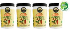 ZenGut Low FODMAP Certified Soup (Carrot Ginger), 4 pack - No Onion No Garlic, Gut Friendly-soup-casa de sante
