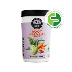 ZenGut Low FODMAP Certified Soup (Root Vegetable Broth) - No Onion No Garlic, Gut Friendly-soup-casa de sante