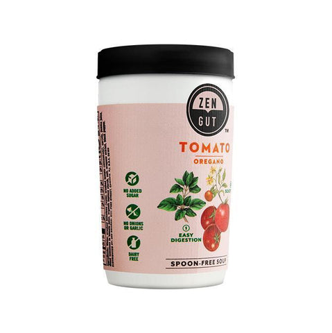 ZenGut Low FODMAP Certified Soup (Tomato Oregano), 16 pack - No Onion No Garlic, Gut Friendly-soup-casa de sante