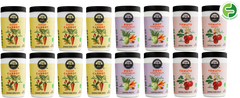 ZenGut Low FODMAP Certified Soup, Variety, 16 pack - No Onion No Garlic, Gut Friendly Low FODMAP IBS