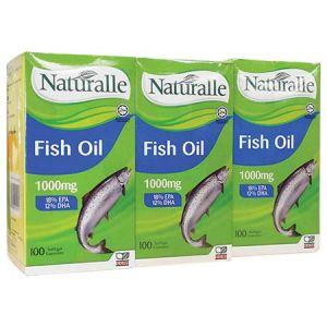 Naturalle Fish Oil 1000mg Tablet - DoctorOnCall