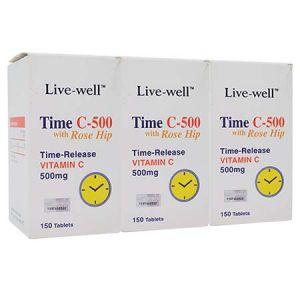 Live-well Time C 500mg Tablet - DoctorOnCall