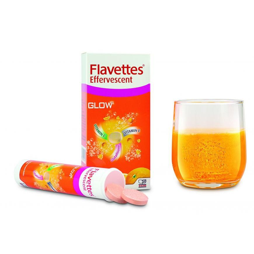 Flavettes Glow Effervescent Tablet - DoctorOnCall