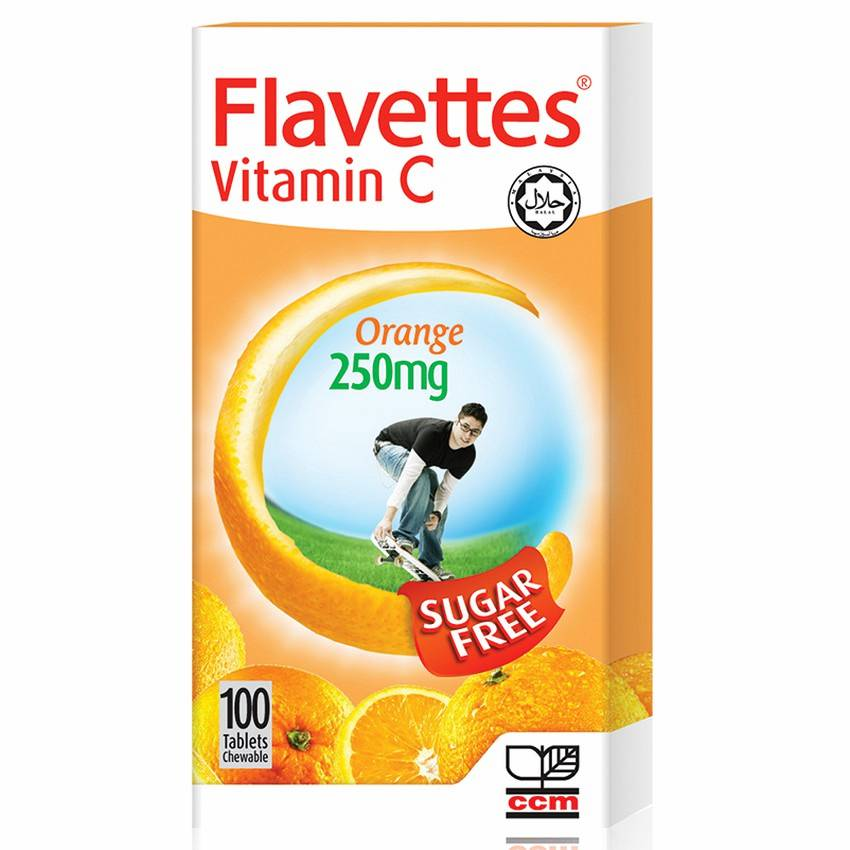 Flavettes Vitamin C 250mg Tablet - DoctorOnCall