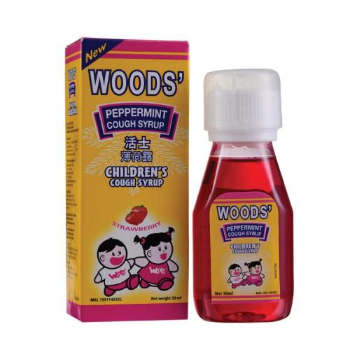 Woods Cough Syrup Children - DoctorOnCall