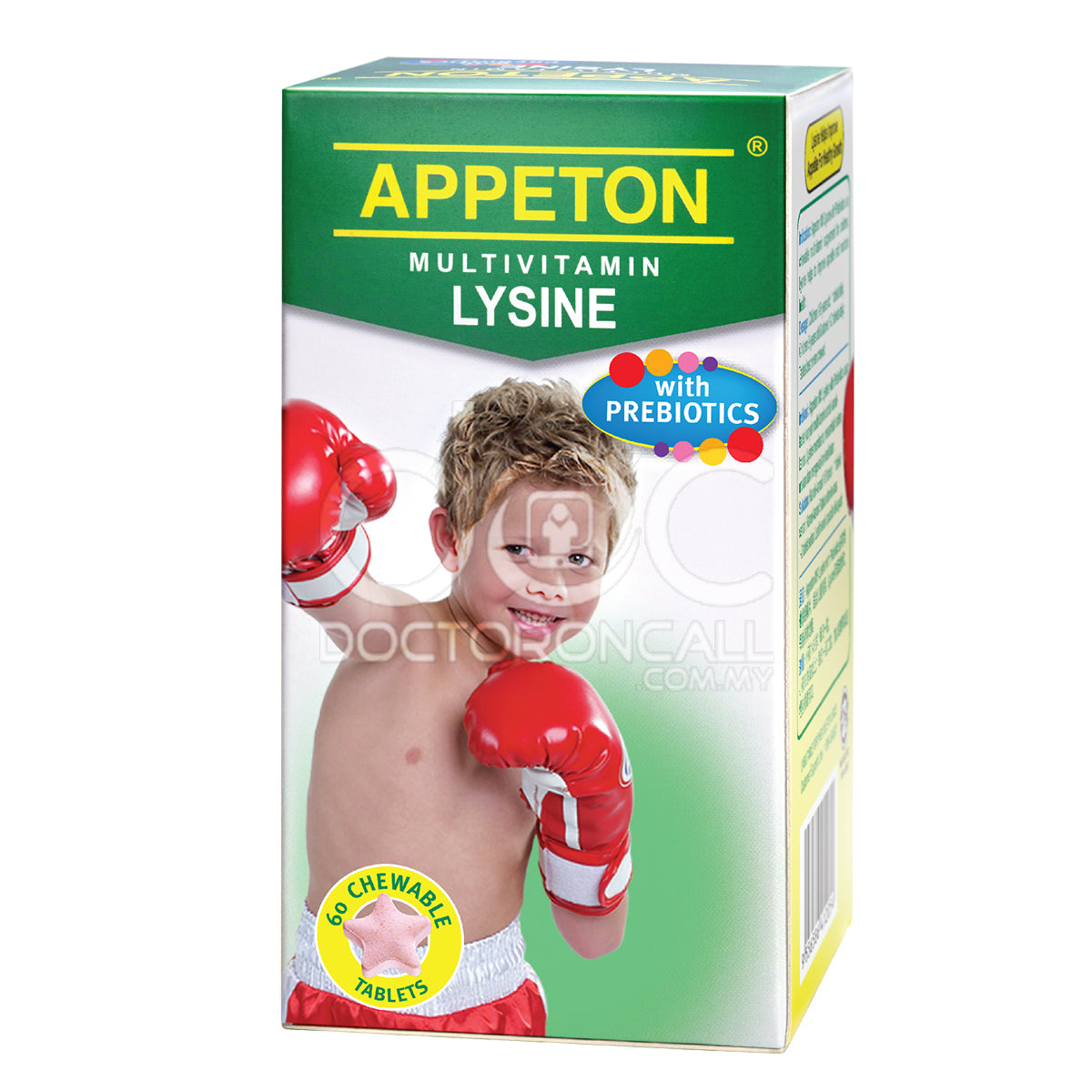 Appeton Multivitamin Lysine With Prebiotics Tablet - DoctorOnCall