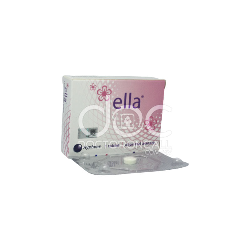 Ella 30mg Tablet - DoctorOnCall