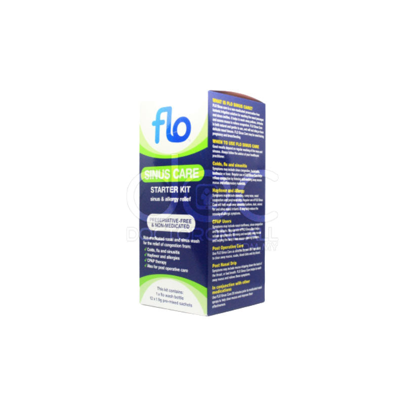 Flo Sinus Nasal Care Starter Kit - DoctorOnCall