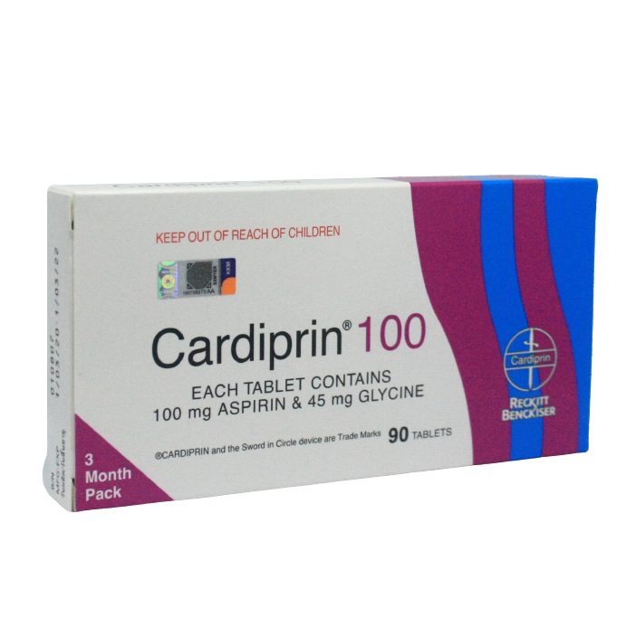Cardiprin 100 Tablet - DoctorOnCall