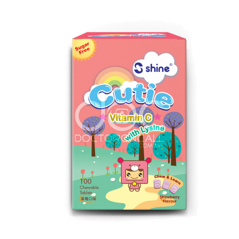 Shine Cutie Chewable Tablet - DoctorOnCall