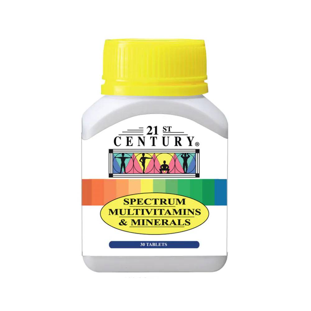 21st Century Spectrum Multivitamins And Minerals Tablet - DoctorOnCall