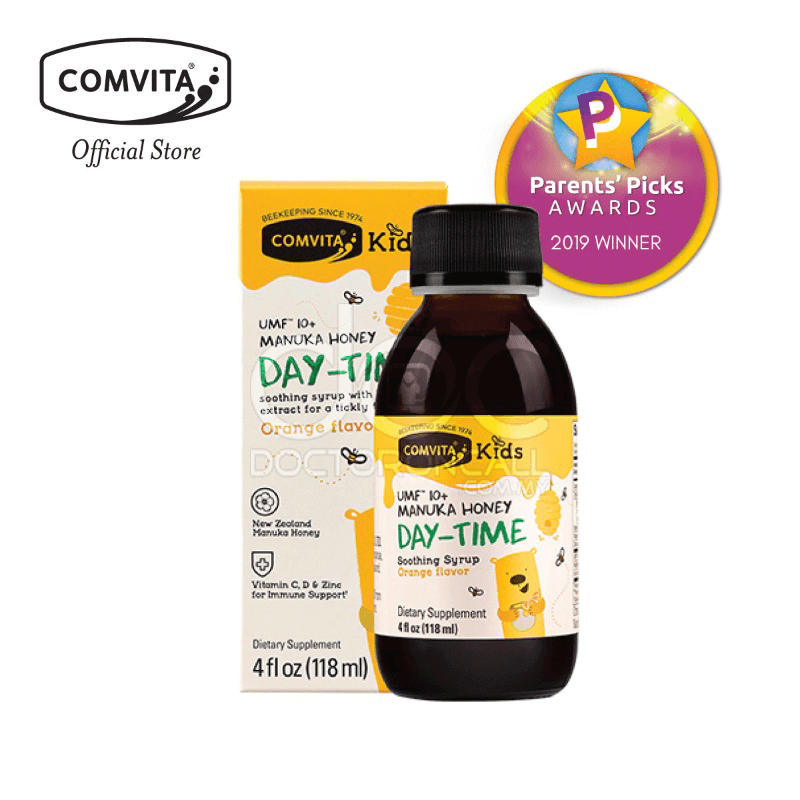 Comvita Kids Day Time Soothing Syrup - DoctorOnCall
