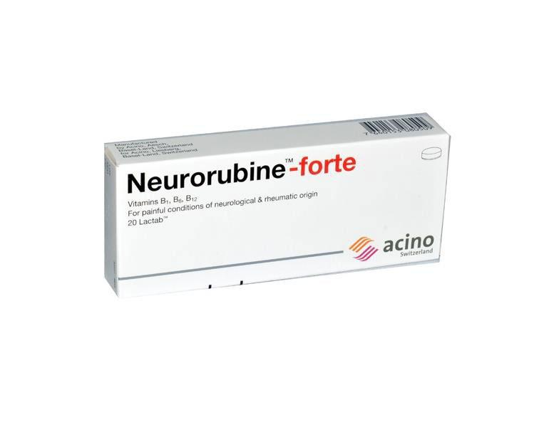 Neurorubine Forte Tablet - DoctorOnCall