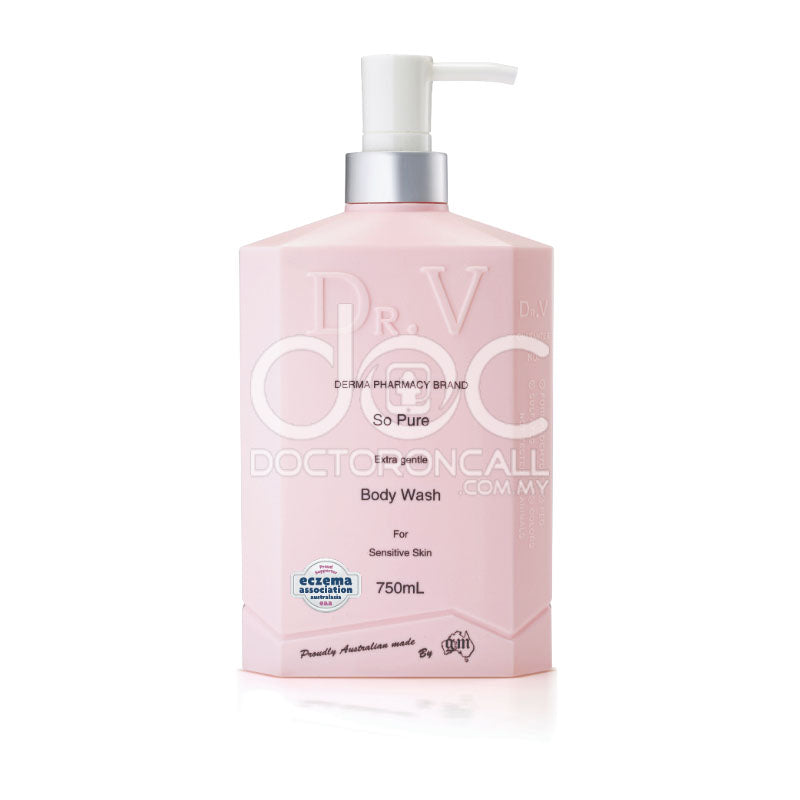 Dr. V Eczema body wash - So Pure - DoctorOnCall