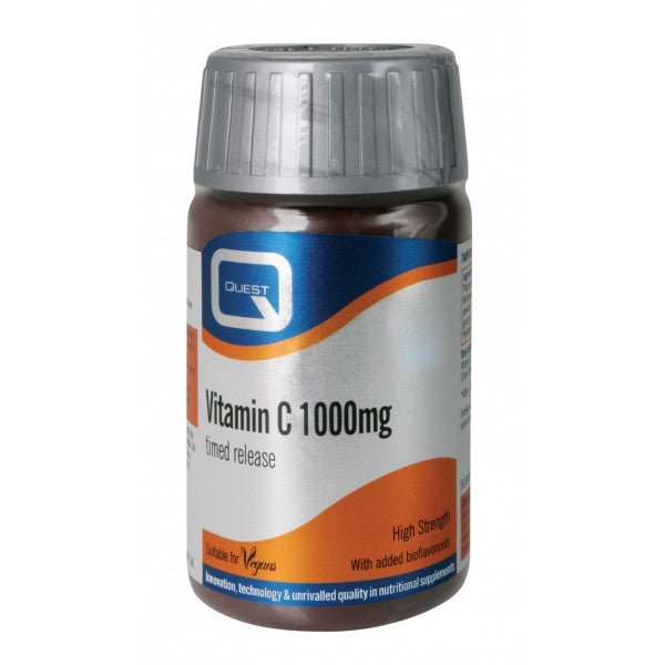 Quest Vitamin C 1000mg Timed Release Tablet - DoctorOnCall
