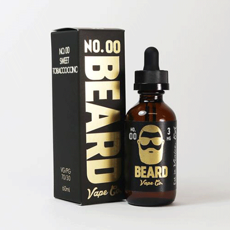 No 00 Beard Vape Co. E Liquid Juice