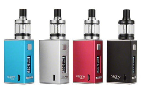 Aspire NX30 Rover Starter Kit with Nautilus X Atomizer Black Blue Red Silver