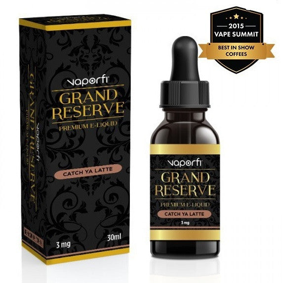 VaporFi Grand Reserve Catch Ya Latte E Juice Liquid