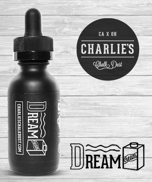 Dream Cream E Juice Liquid Charlie's Chalk Dust