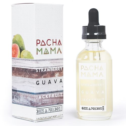 Pacha Mama Strawberry Guava Jackfruit E Juice Liquid Charlie's Chalk Dust