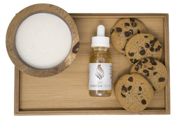 Cookies & Cream E Liquid The Clean Vape E Juice