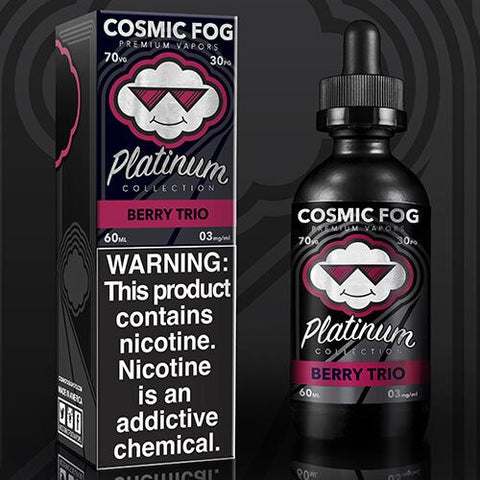 Berry Trio Cosmic Fog Platinum E Juice Premium E Liquid