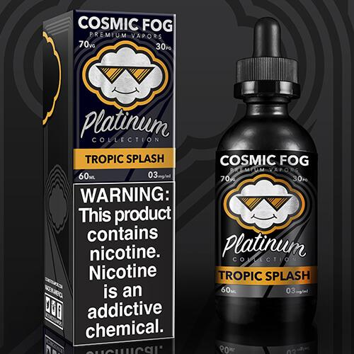 Tropic Splash Cosmic Fog Platinum E Juice Premium E Liquid
