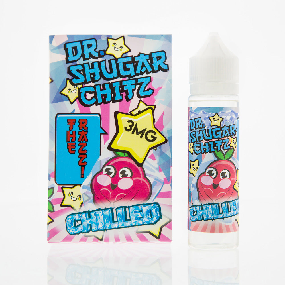 The Razz Chilled Dr Shugar Chitz E Liquid Juice