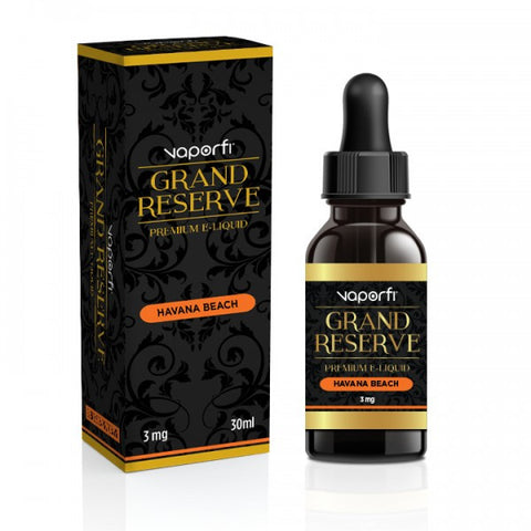 Havana Beach Grand Reserve VaporFi E Liquid Juice